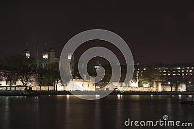 Night skyline of london