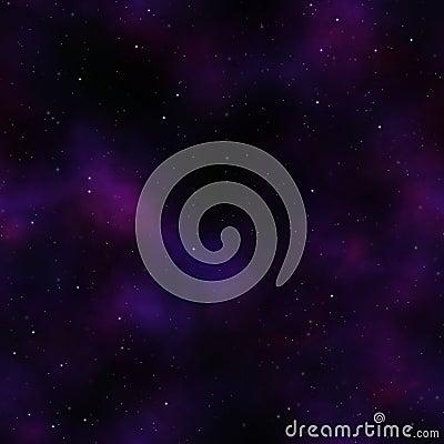 Night space sky