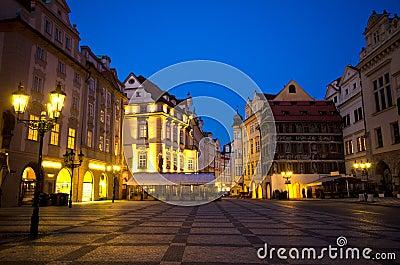 Night,Staromestska Square(Old Town Square),Prague