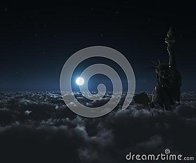 Night Statue