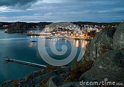 Night in Sweden