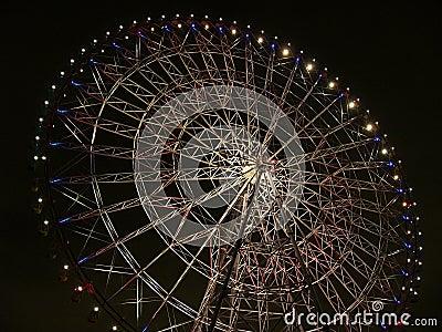 Night time big-wheel