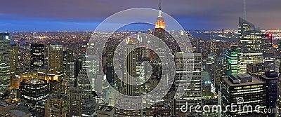 Night Time New York