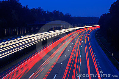 Night time traffic