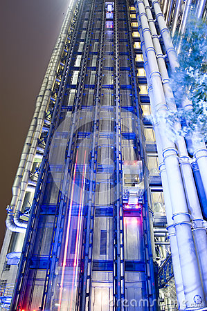 Night Time view, Lloyds of London