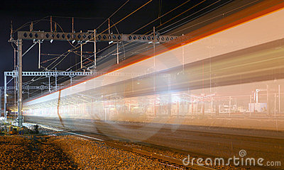 Night Train Blur