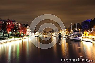Night in Turku