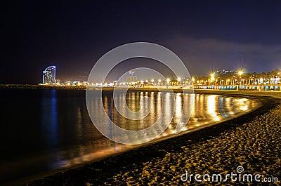 Night View at Shore