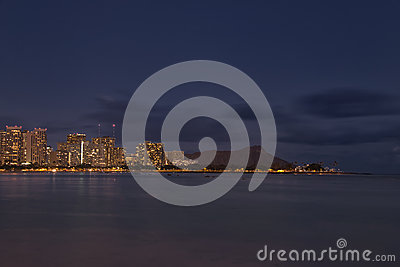 Night in Waikiki