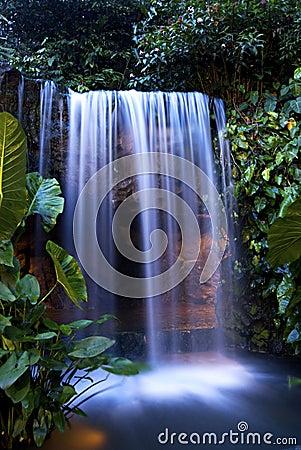 Night Waterfall 1