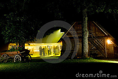 Night Wedding Party