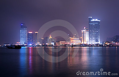 Night of xiamen Editorial Photography