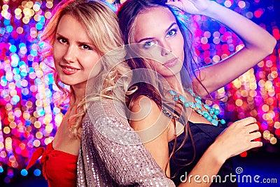 Nightclub beauties