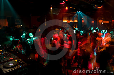 Nightclub Dance Crowd