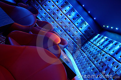 Nightclub lounge