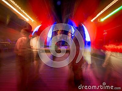 Nightclub or rock concert dancing