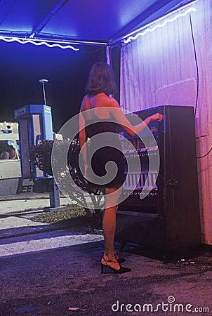 Nightclub Scene from set of  Temptation Editorial Image