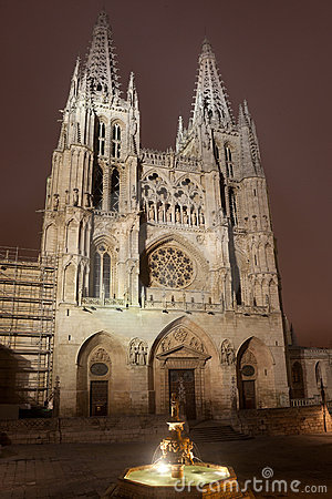 Nightfall in the Cathedral of Burgos