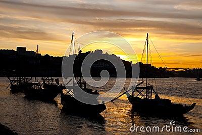 Nightfall in Porto
