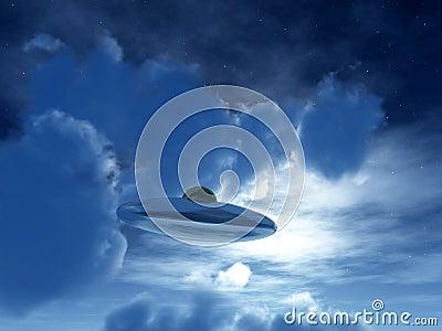 Nightime UFO 28