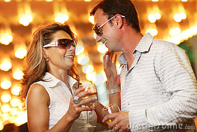 Nightlife couple
