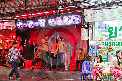 Nightlife in Pattaya, Thailand. Editorial Image