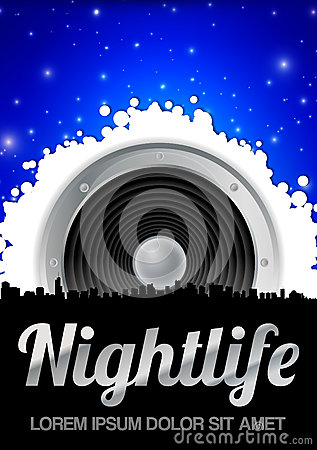 Nightlife Theme with Speaker