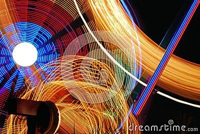 Nighttime Carnival Lights