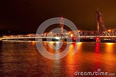 Nighttime Liftbridge
