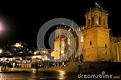 Nighttime in Peru