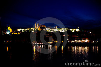 Nightview of Prague
