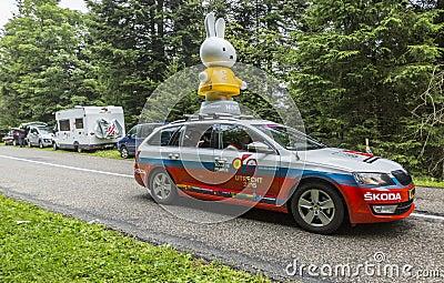 Nijntje Caravan- Le Tour de France 2014 Editorial Stock Image