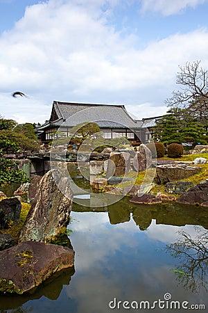 Nijo Castle Japanese garden