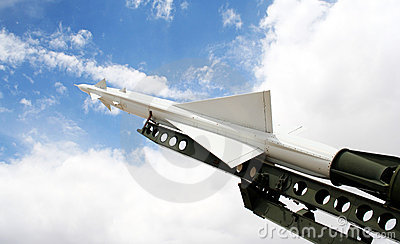 A Nike Ajax Missile and Launcher