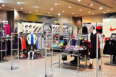 Nike retail store, hong kong