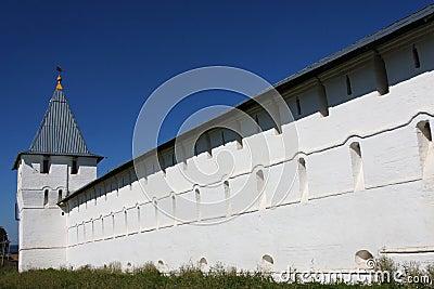 Nikitski Monastery white walls