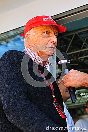 Nikki Lauda Fotografia Editorial