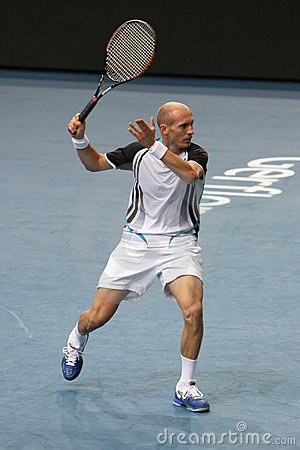 Nikolay DAVYDENKO (RUS) at BNP Masters 2009 Editorial Photography