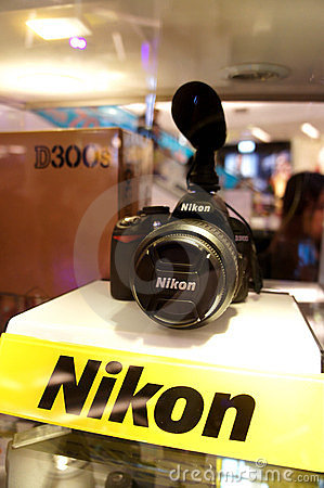 Nikon D3100 Editorial Stock Photo