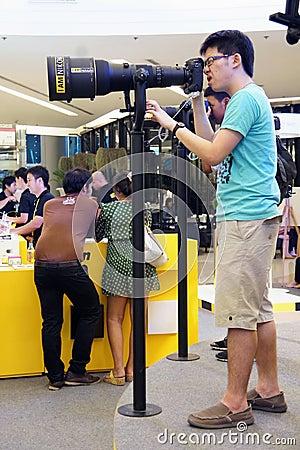 Nikon Day 2012 Thailand Editorial Stock Photo