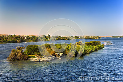 The Nile scenery