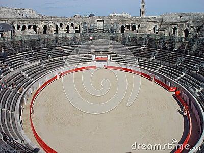 Nimes Roman Amphitheatre