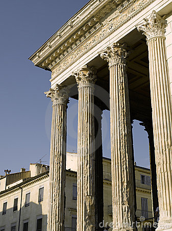 Nimes: Roman temple named