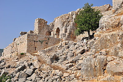 Nimrod Fortress. (Nothern Israel.)