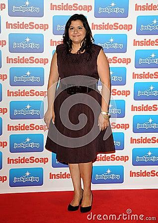 Nina Wadia Editorial Stock Photo