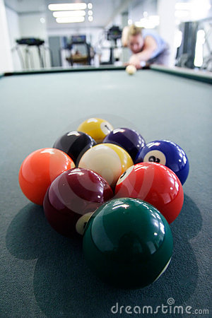 Nine ball pool rack
