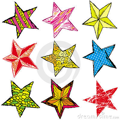 Nine christmas star ,