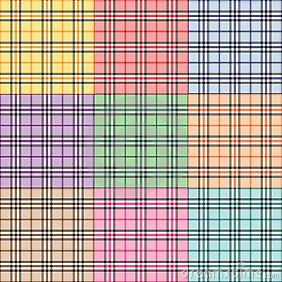 Nine Plaid Patterns