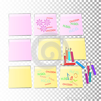 how to make different colored sticky notes on background mac