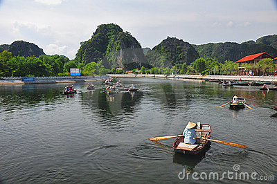 Ninh Binh, Vietnam Editorial Stock Photo